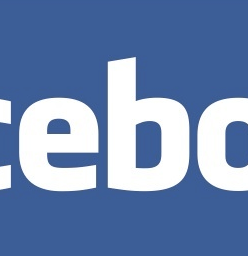 Facebook corporate logo.