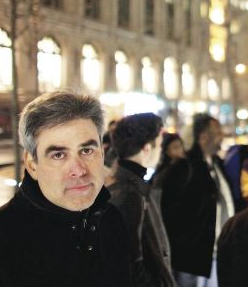 A photo of Jonathan Haidt at Occupy Wall Street
